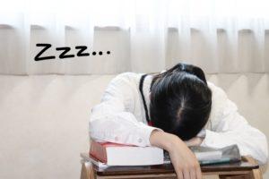 勉強眠くなる